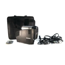 Compaq MP2810 Ipaq Microportable Projector With Carry Case TESTED + Remote 271HR