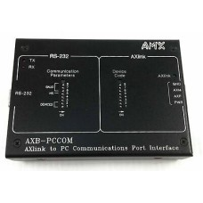 AMX Axlink To PC Communications Port Interface Model AXB-PCCOM