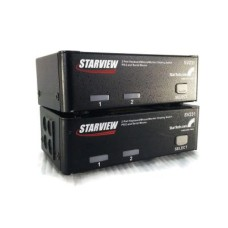 Lot Of 2 Starview 2-Port Ps2 Switch KVM SV231ps2 Star-Tech