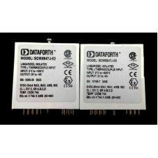 Lot Of 2 Dataforth SCM5B47J-03 Linearized Thermocouple Input Module