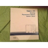 Millipore Waters 470 Operator's Manuals     ________________