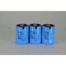 Lot Of 3 PHILIPS 2222-050-18682 6800UF 63V Electrolytic Capacitor