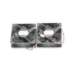 Lot of 2 NMB 3110KL-04W-B79 Fan 80*80*25MM 3-Pin 12V 0.38A CASE COOLING FAN