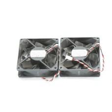 Lot of 2 NMB 3110KL-04W-B79 Fan 80*80*25MM 3-Pin 12V 0.38A CASE COOLING FAN