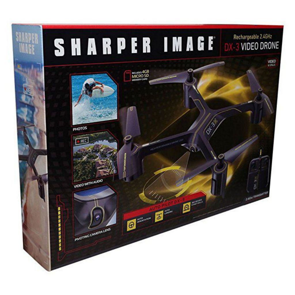 Awesome Sharper Image Video Drone Reviews